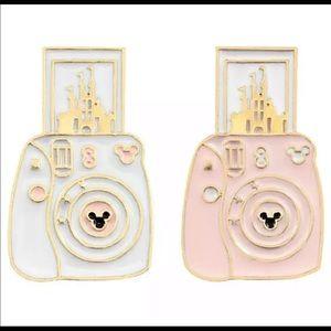 Cartoon Camera Castle Pin